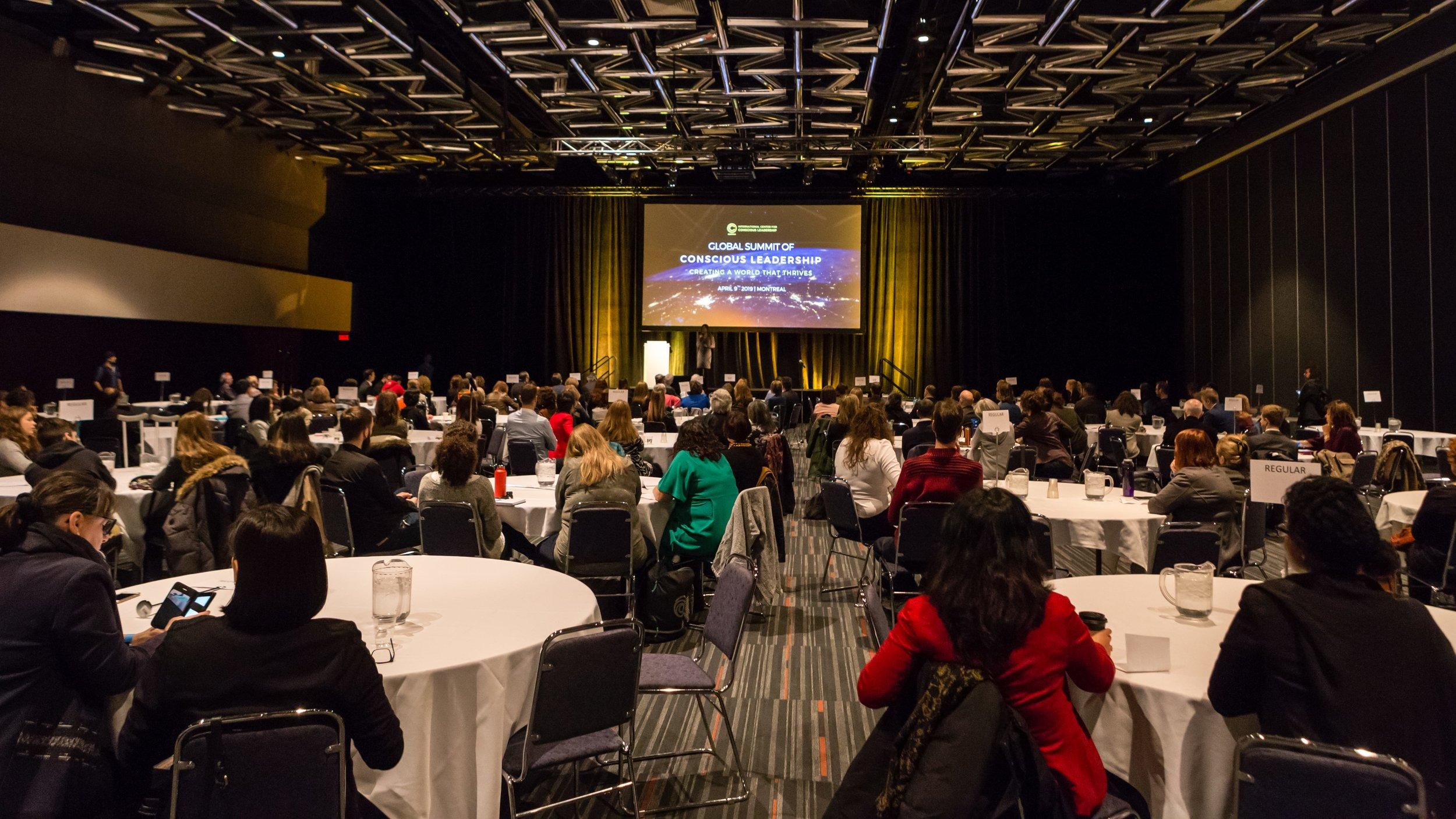 Global Summit of Conscious Leadership 2019 - 9 avril 2019, Montréal (Palais des congrès)