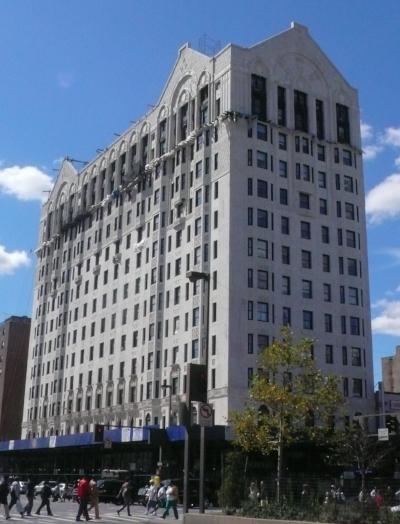 Hotel Theresa, Historic Landmark, Adam Clayton Powell Jr. Boulevard between West 124th and 125th Streets  (Wikipedia )
