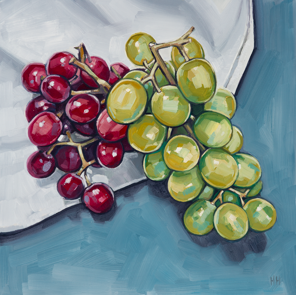 AVAILABLE  - 'Red and green grapes' - 2015