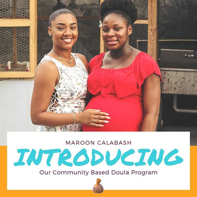 It has been years in the making! It all started with our group of sister-friends gathered around the kitchen table with babies playing at our feet, or being carried on our backs and inside our bellies.  With so much joy in our hearts, we're honored to unveil that Maroon Calabash has a Community Based Doula Program!!!!🎉🎉 We support Black individuals and families seeking doula support as they journey through reproductive experiences. We also build partnerships with local patent serving organizations to sponsor doula services for their participants. Doulas are for all bodies, and all experiences and we're so excited to share more...check out our future posts to learn more about the doulas on our team!  #blackmamasmatter #blackdoulasmatter #blackdoulasaredope #reproductivejustice #trustblackdoulas #blackmaternalhealth #marooncalabash