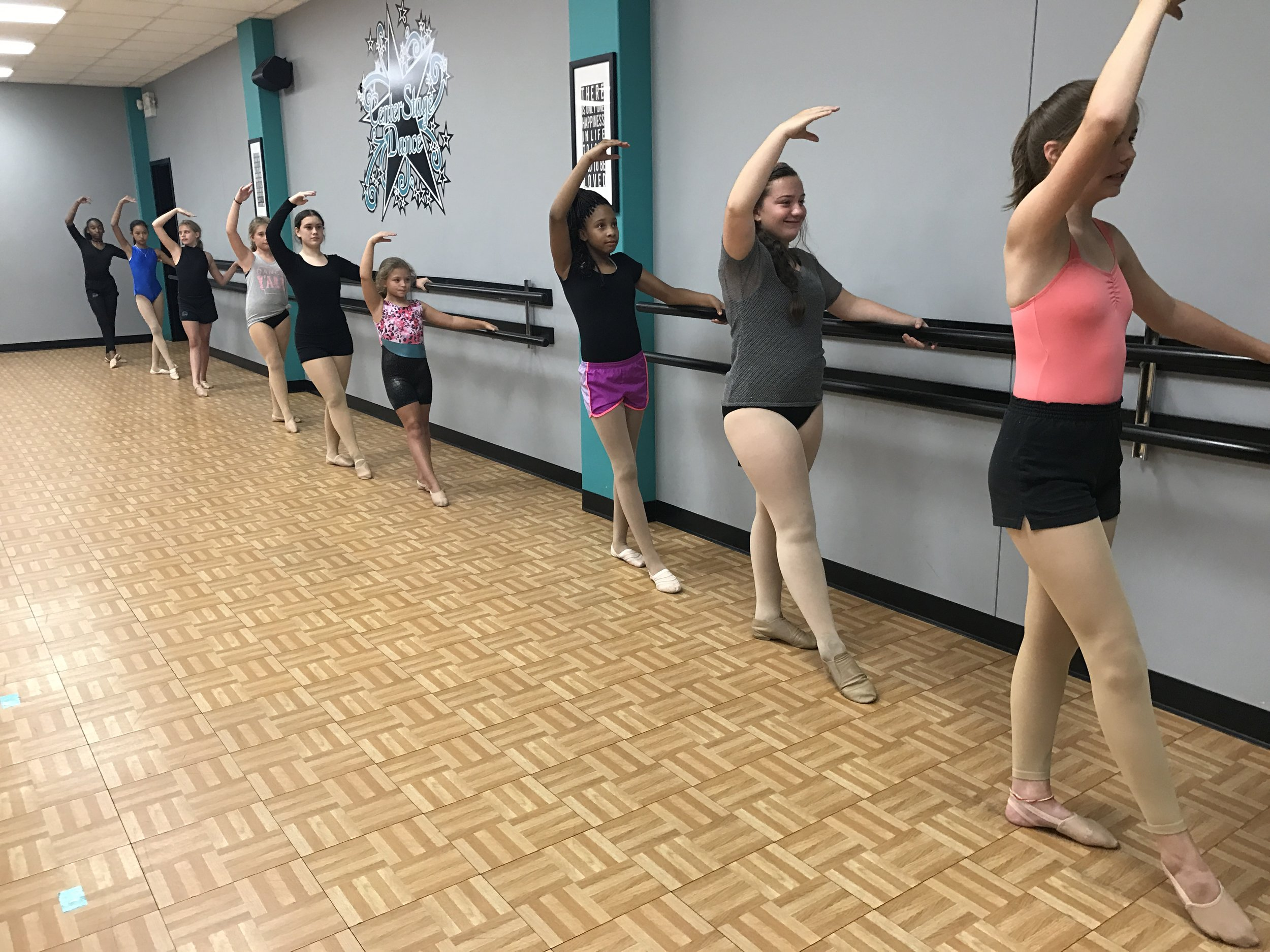 Registering for class is easy!  Follow the link below to create an account and register your child today!  - https://dancestudio-pro.com/online/index.php?account_id=9206