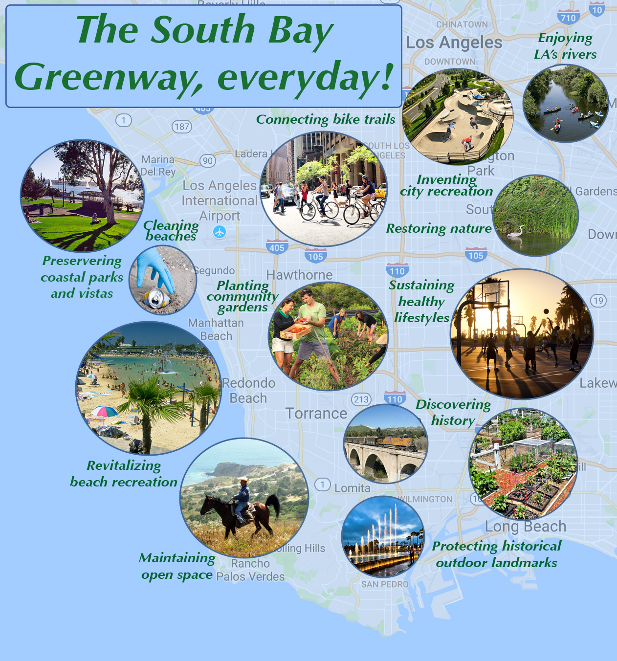 South Bay Urban Trail Network -