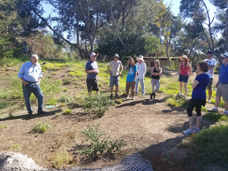 SBPC Members and community learning about vernal ponds and drought tolerant landscapes in Wilderness Park.