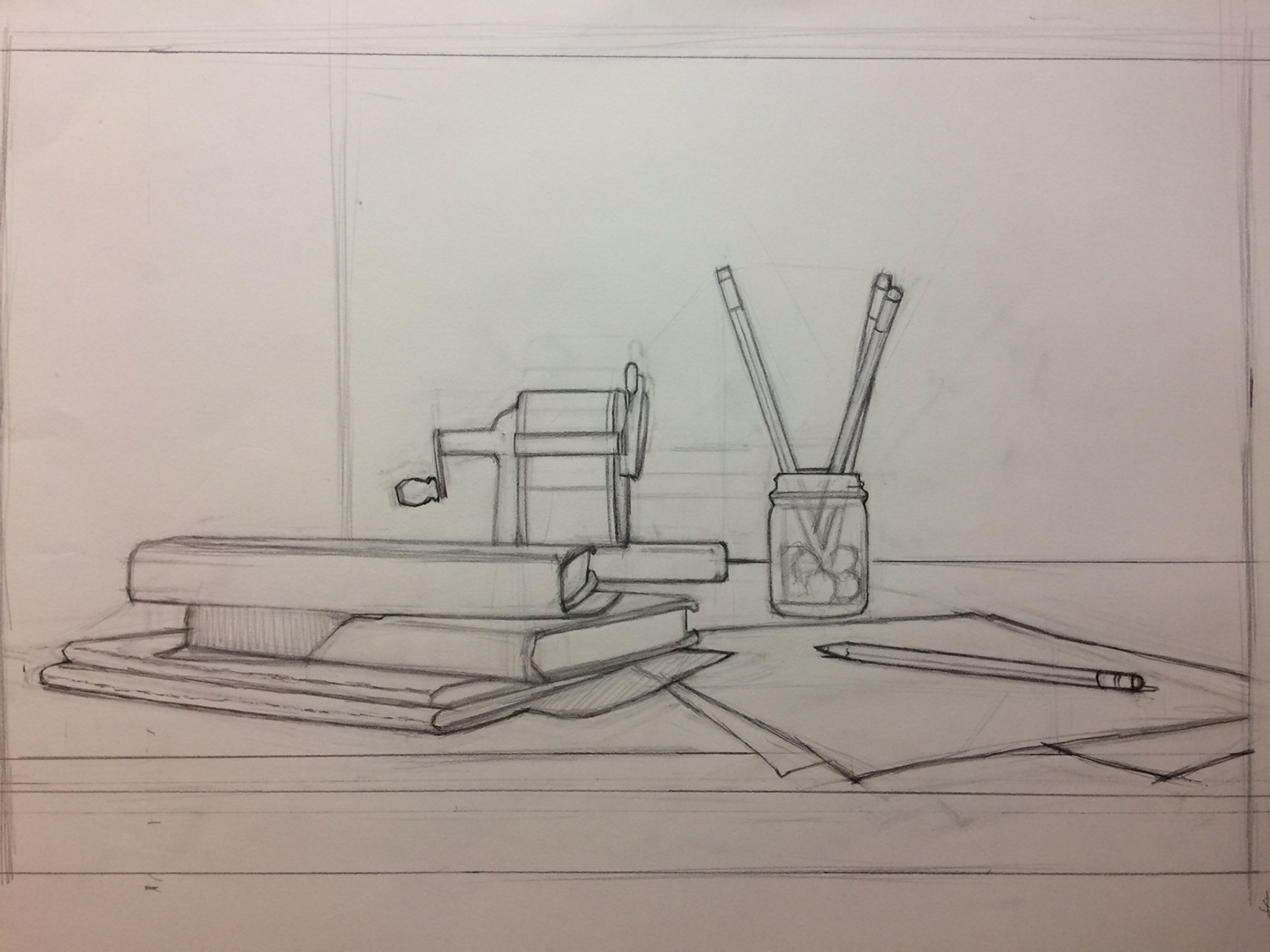 STILL LIFE DRAWING - 5 Days: 9 am - 12 pmInstructor: Danny GrantStill Life Drawing is a chance for young artists to create compelling pictures using the building blocks of composition, value, and form.