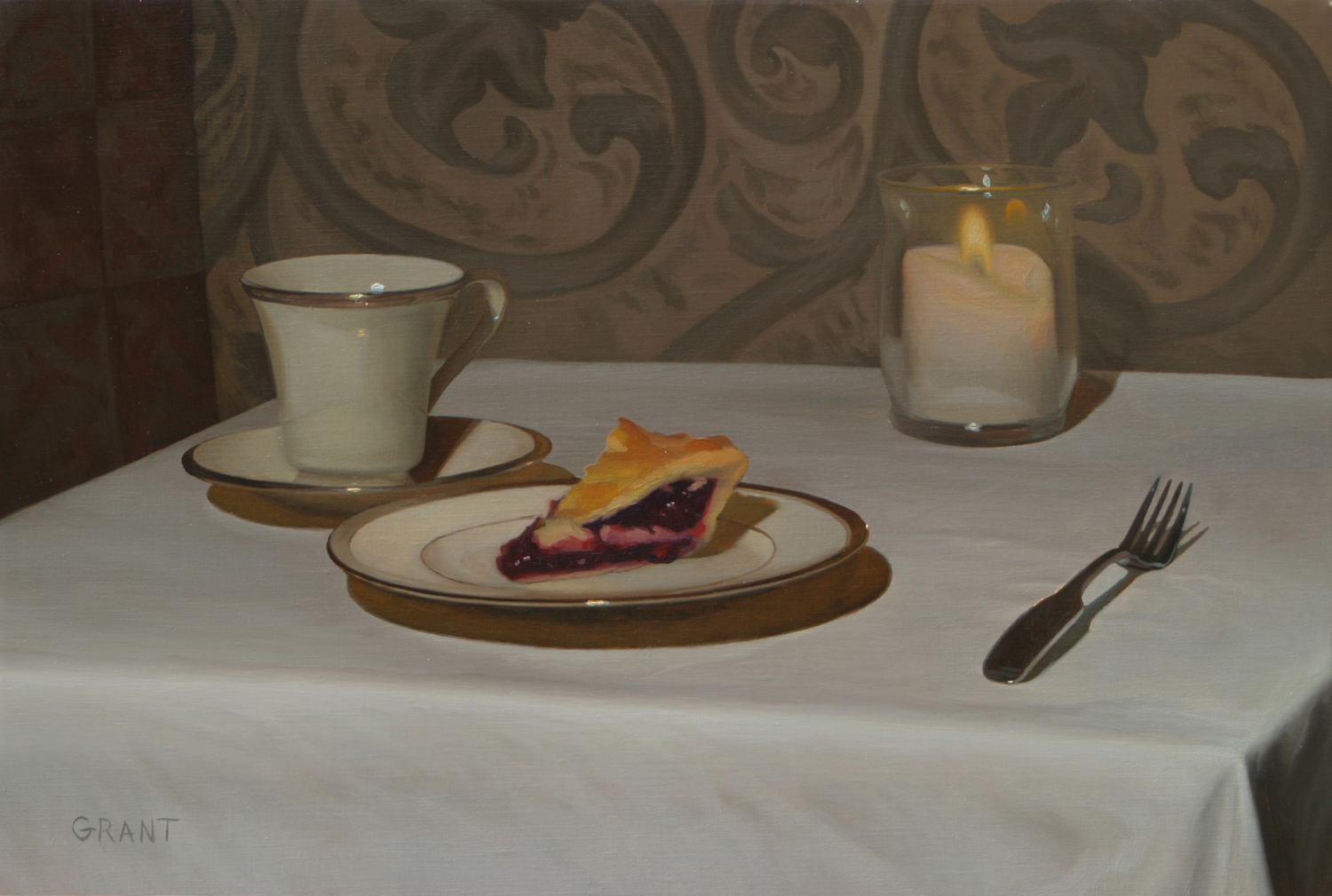 STILL LIFE PAINTING - 5 Days: 1-4 pmInstructor: Danny GrantStill Life painting will teach value, line, color, reflection, composition, textural mark making and more from direct observation.