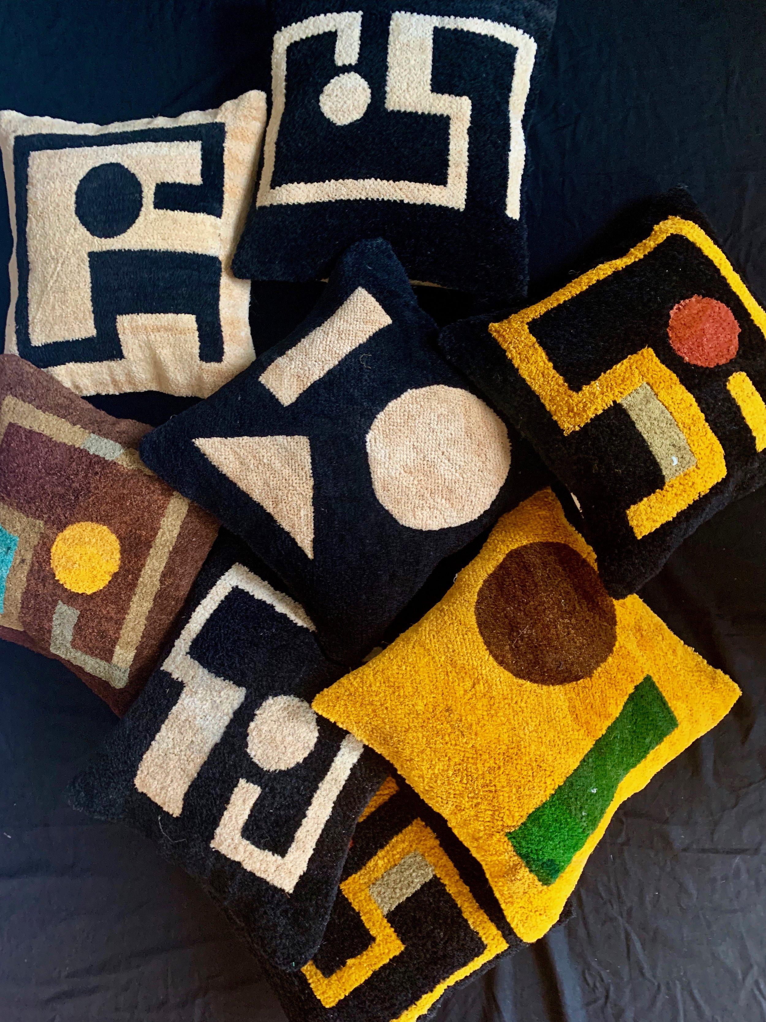 Mandombe cushions