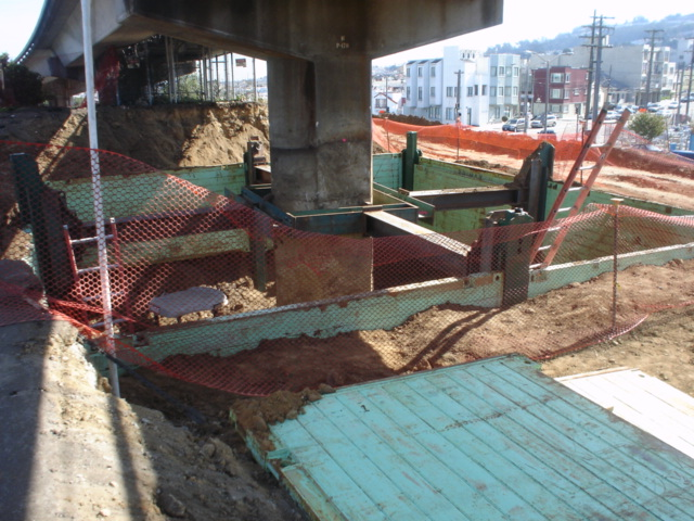 Telescopic Slide Rail for Overhead Obstacles - Seismic Retrofit Bart - R&L Brosamer.JPG