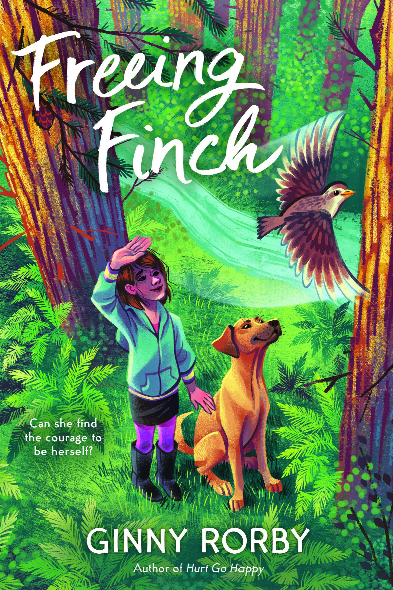 Freeing Finch   The effort it takes Finch Delgado, a transgender girl, to earn the trust of an abandoned dog, helps her realize what she wants—acceptance, love, and to be part of a family, doesn't always come from where you expect it.