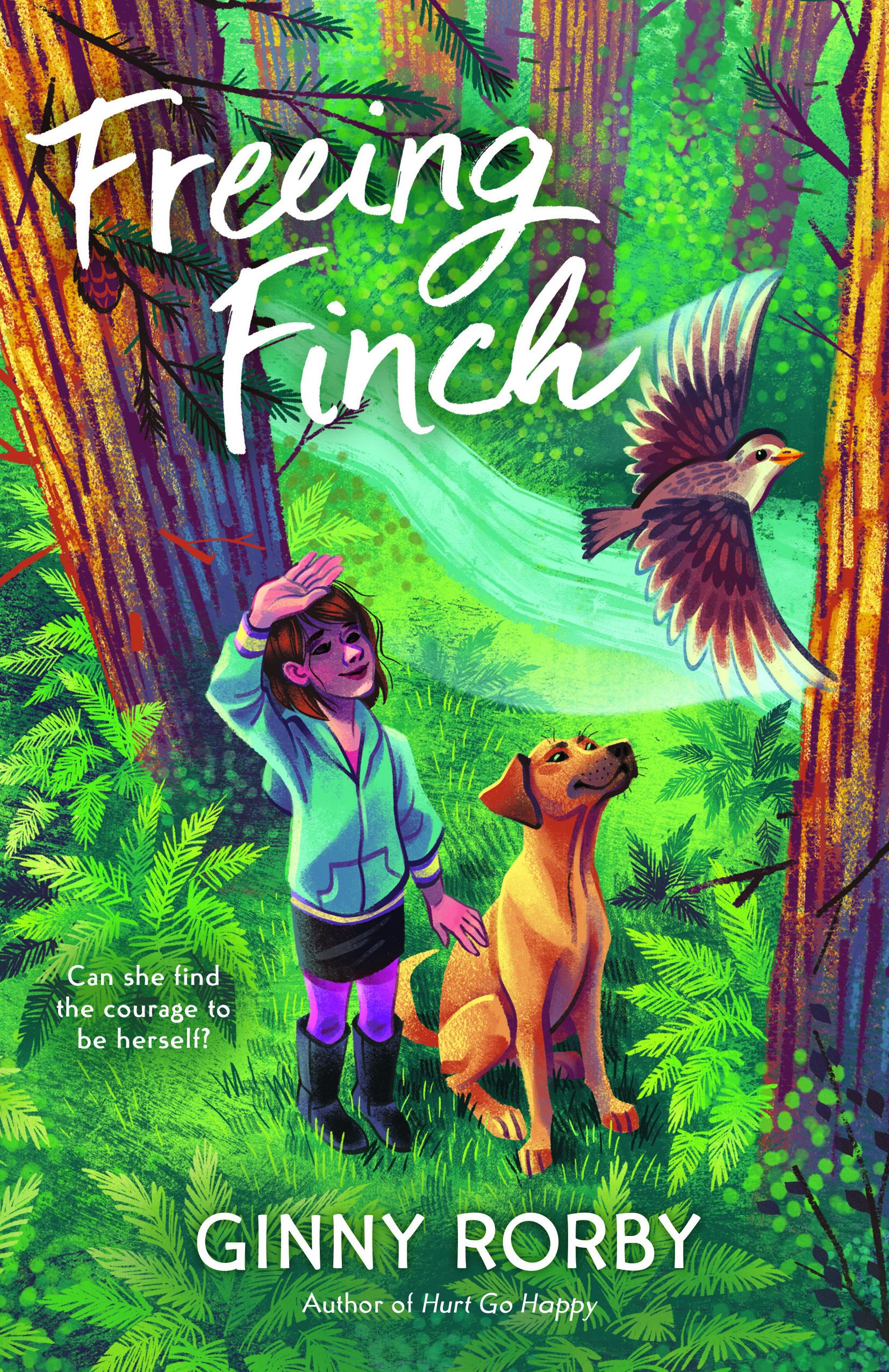 Freeing Finch  The insightful story of a transgender girl and an abandoned dog who overcome adversity to find a home, love, and a sense of belonging.  Available October 1, 2020.