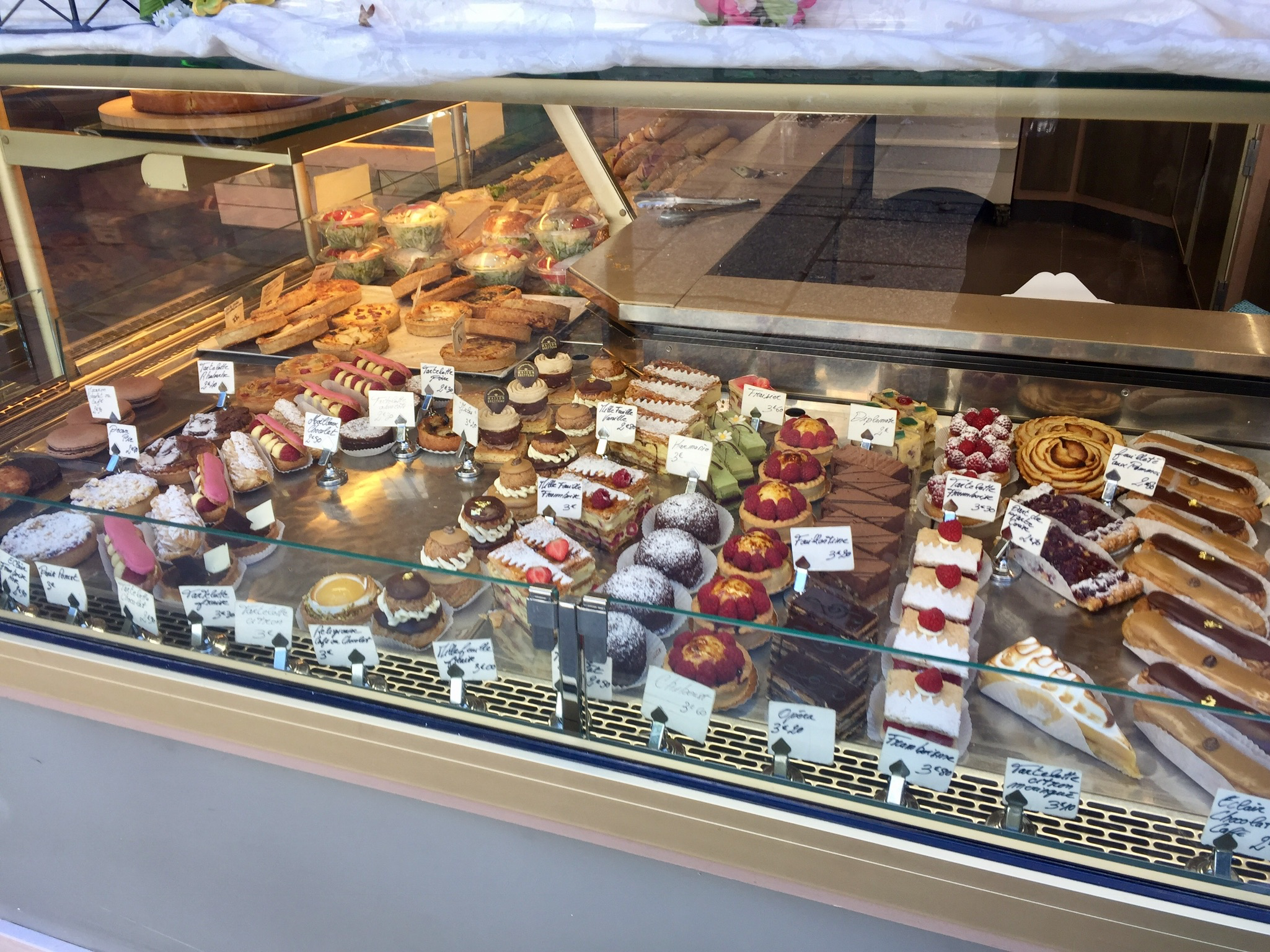 ALL the pastries!
