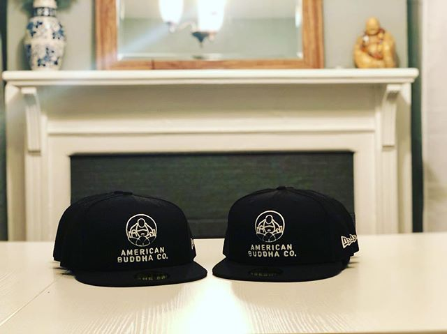 Happy New Year folks! We still have plenty of custom fitted #newera @americanbuddhaco #caps for sale — DM us today or drop us a line for your 20% discount — only $29 per cap!  Visit our website for new Buddha Gear:  AmericanBuddhaCo.com  #customhats  #hat  #cap  #americanbuddha  #americanbuddhaco #newerafitted  #newera59fifty  #newerahat  #makehappinessahabit