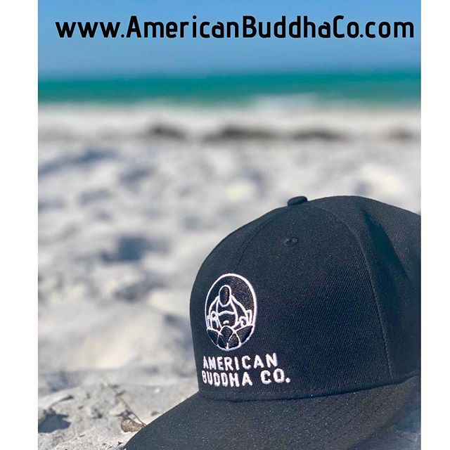 @americanbuddhaco on the beach — summers almost here folks!! Get your fresh American Buddha Co. gear for the summer now!! #makehappinessahabit  #buddha  #summer  #neweracap  #tees #hoodies  #summergear  #americanbuddhaco  #nyc  #losangeles  #sanfrancisco  #miami