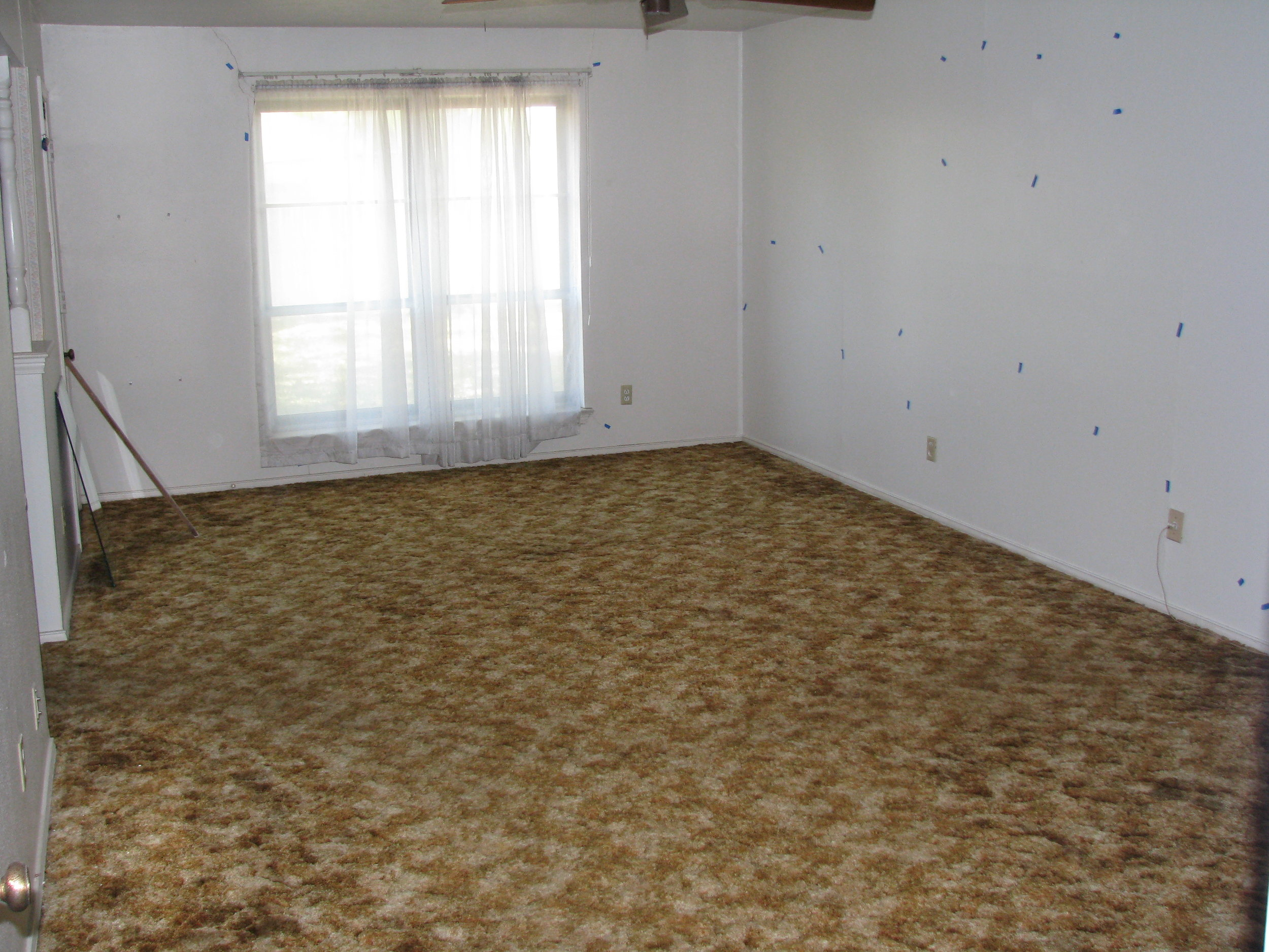 The master bedroom before