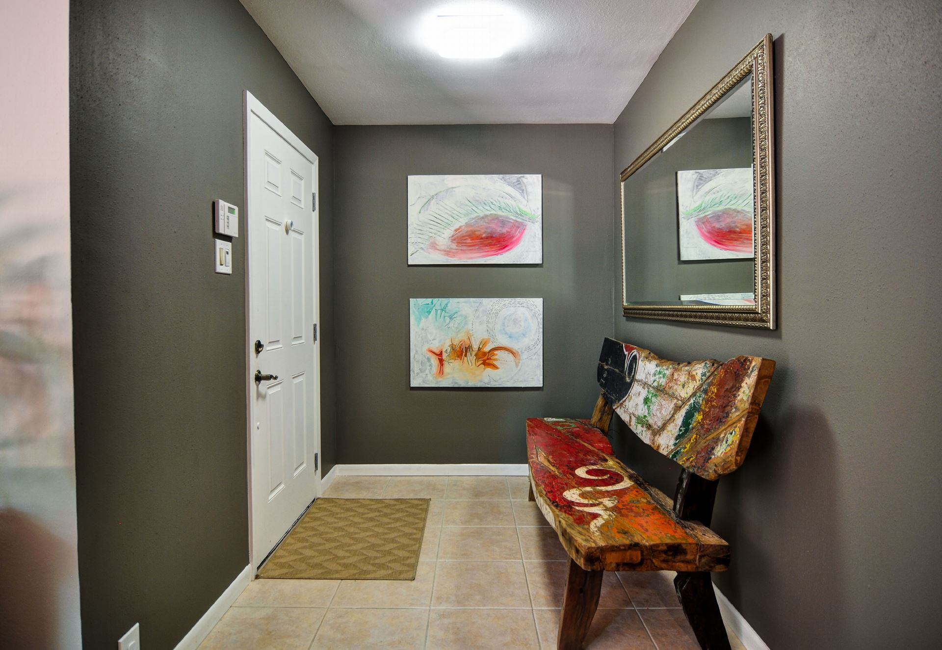 inviting entry way