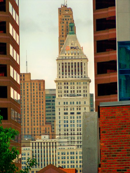 Downtown Towers from Covington's Bradford Bldg.jpg