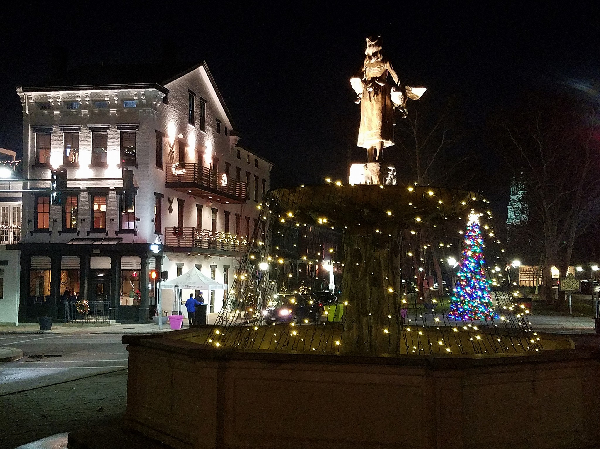 MainStrasse Fountain Christmas Lights.jpg