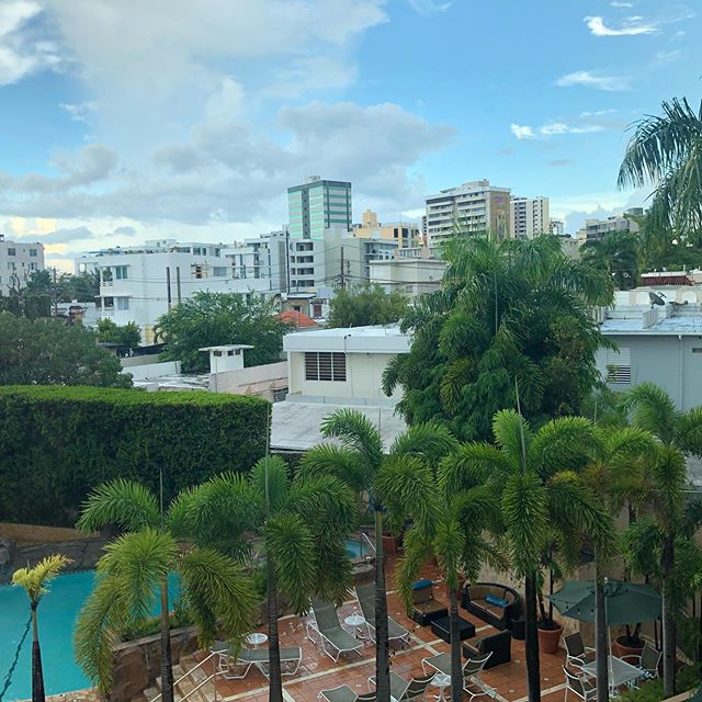 Home for a few days. #nofilter #puertorico #remotework #sanjuan #workworkwork #imissmypets