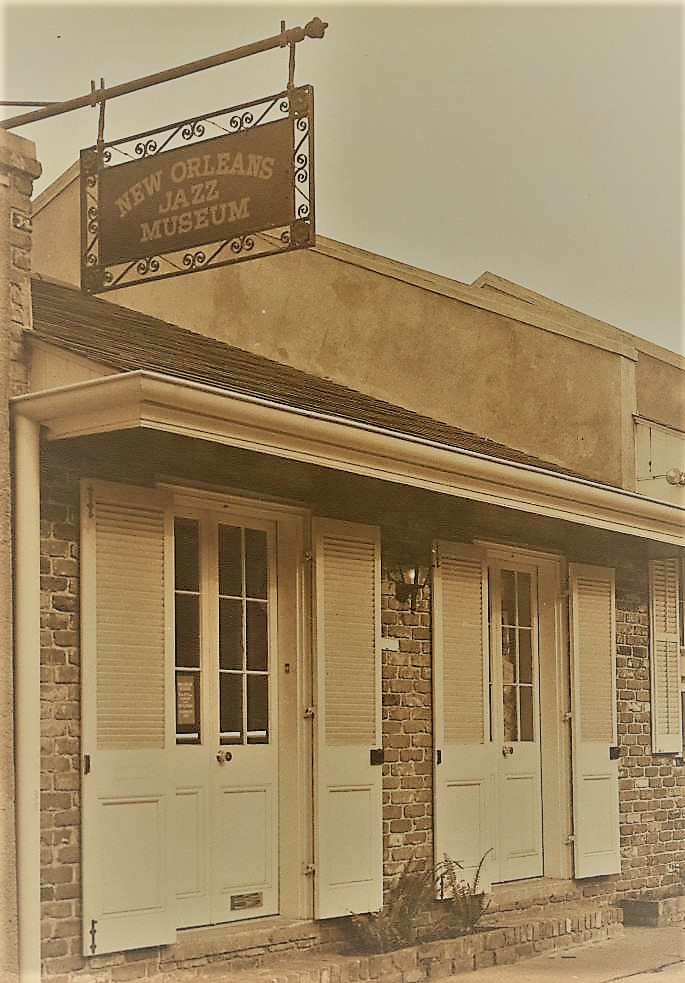 The original home of the New Orleans Jazz Museum, located on nearby Dumaine Street.