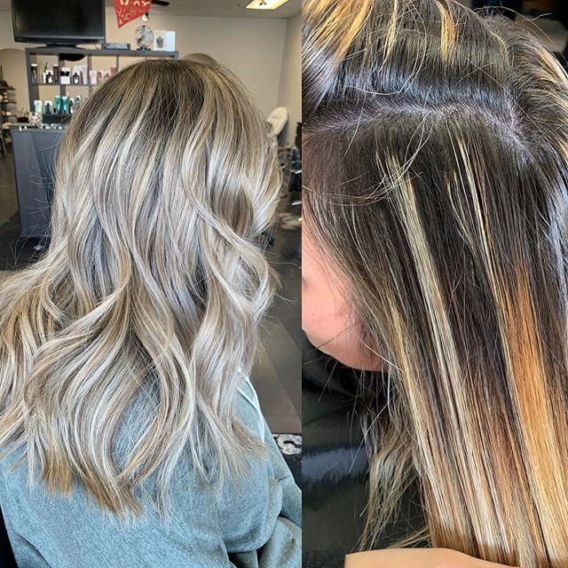 Hair transformation for my girl @toricoots 🖤 #curledncontoured
