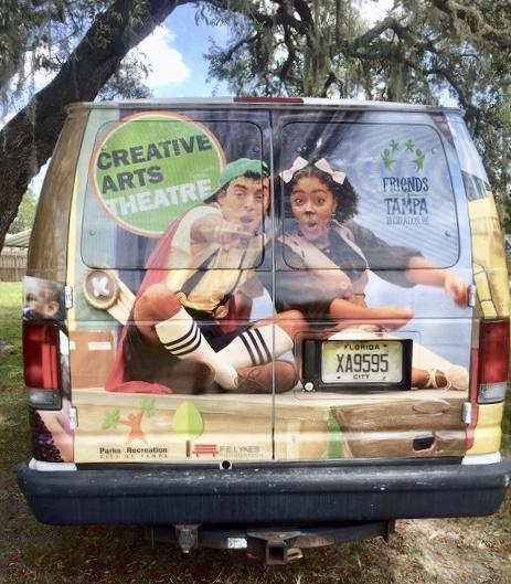 Creative Arts Van Sponsor