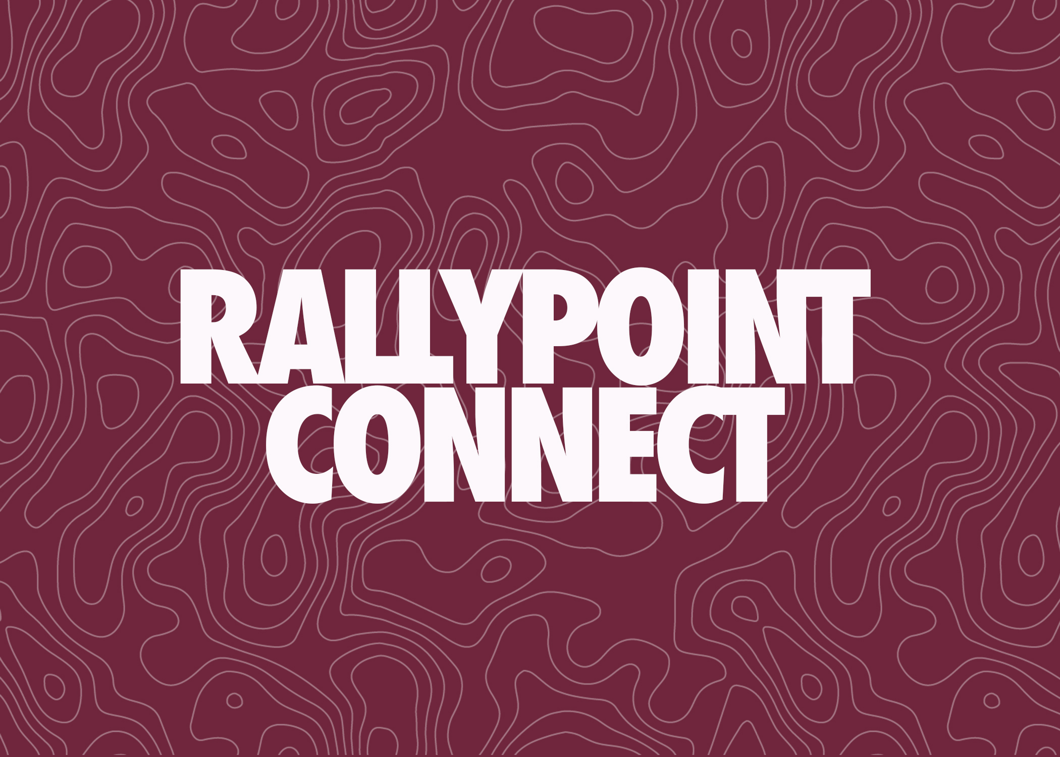 If you're coming to visit us for the first time or if you've been checking us out for a little while now, we would love for you to join us for Rallypoint Connect. Connect happens every single Sunday after our 9:30 AM service and it lasts 40 minutes. You will get to meet and hear from Pastor Drew and about what our church is all about and the best ways for you to take a next step in being a part of it. This is the best entry point in getting connected and getting to know the heart of Rallypoint Church. We can't wait to have you join us! Lunch and childcare are included as part of the program each week.
