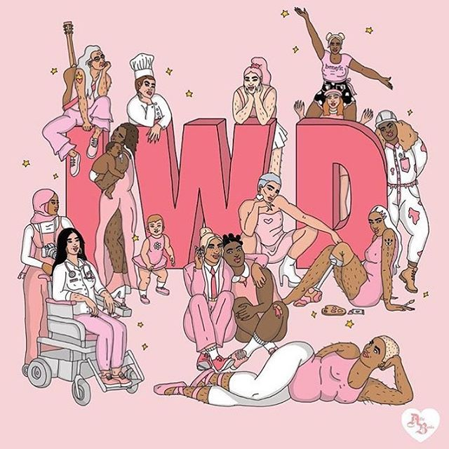 🌈 Happy International Women's Day, everyone! 🌈 :: :: Illustration by @ailiebanks 🙌🏽💜 :: :: :: #internationalwomensday #IWD #iwd2019 #feministparenting #feministart #celebratediversity #motherhood #postpartumsupport #empoweredwomen #postpartumdoula #torontofamilies #torontomama #torontomoms #momsTO #postpartumbodylove