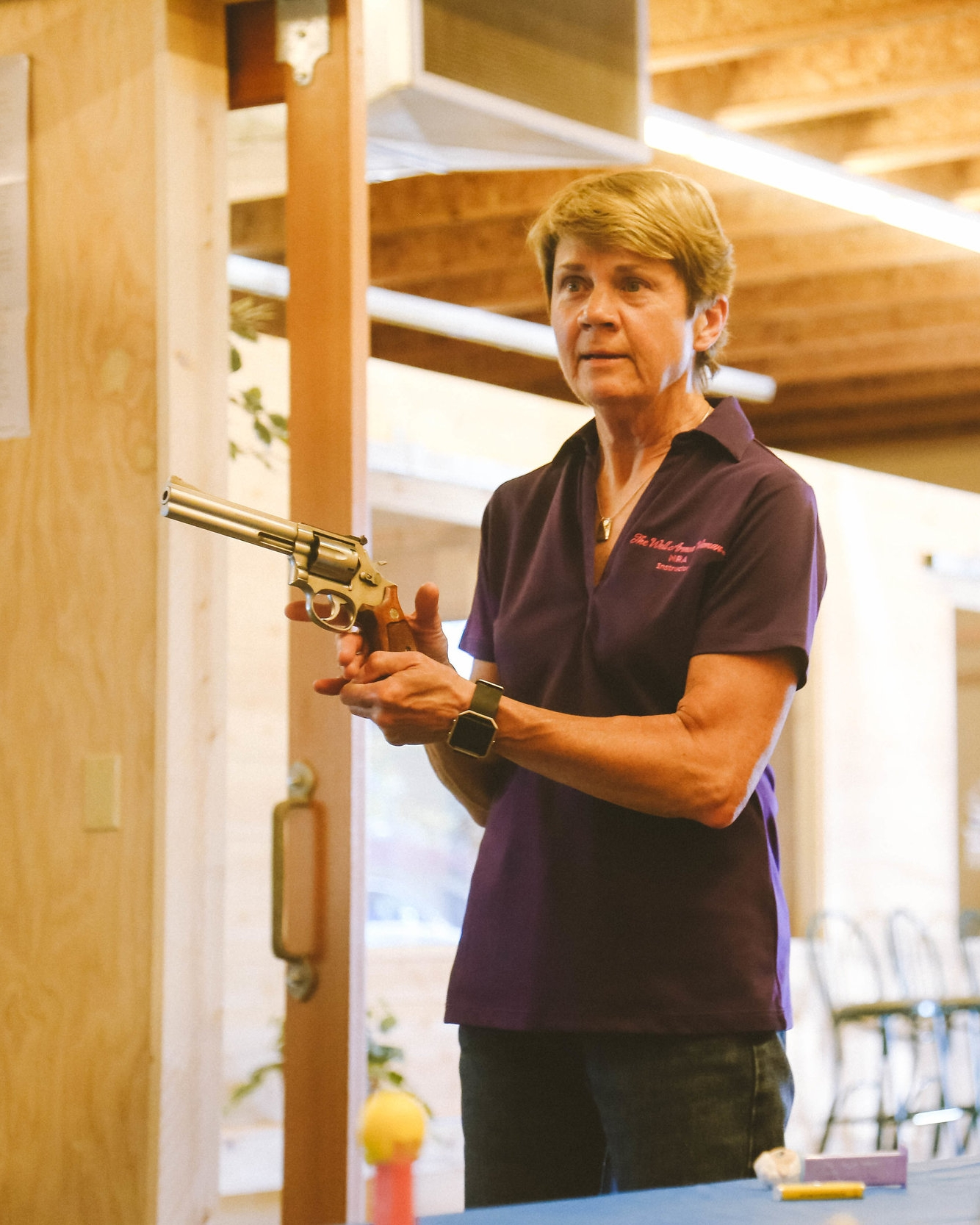 Carol Rozek provides firearm safety classes for those living in Eugene, Springfield, Pleasant Hill, Coburg, Creswell, Junction City, Harrisburg and Cottage Grove.