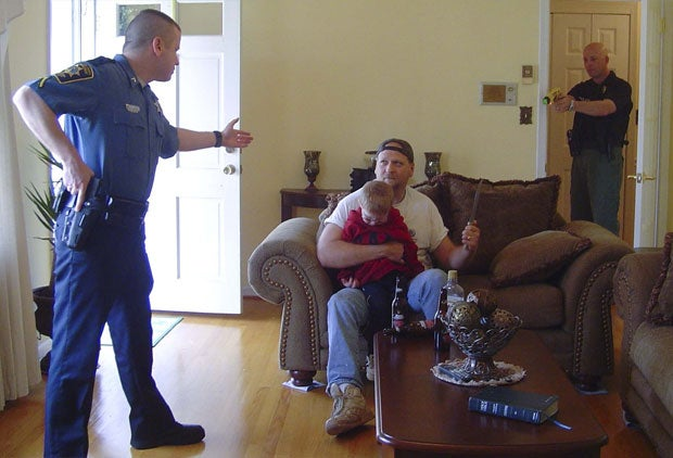 Peace officers practice likely scenarios in a home environment and so should you.