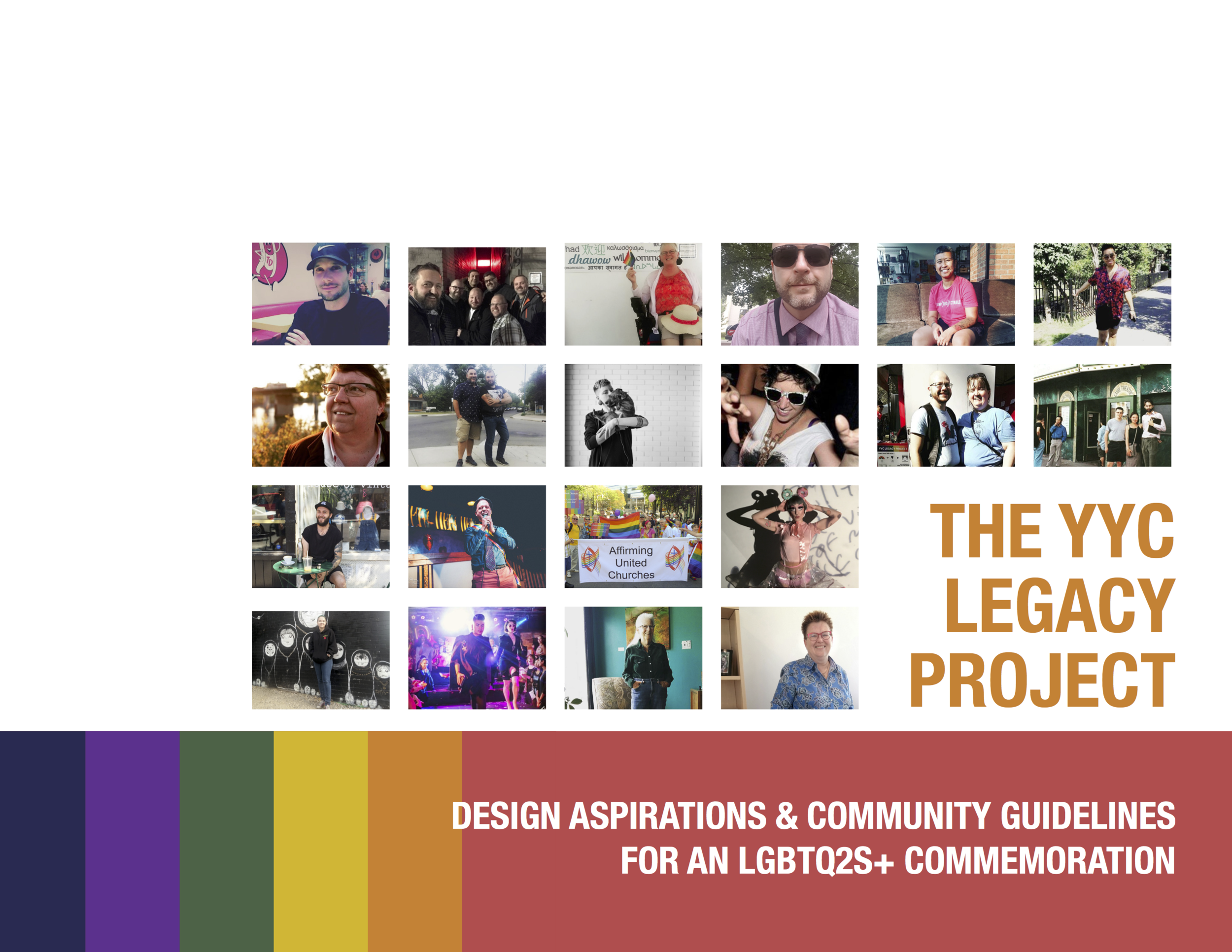 Click on the image above to open the complete PDF and hear what Calgary's LGBTQ2S+ community desires for queer spaces!