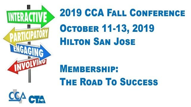 Fall 2019 CCA Conference