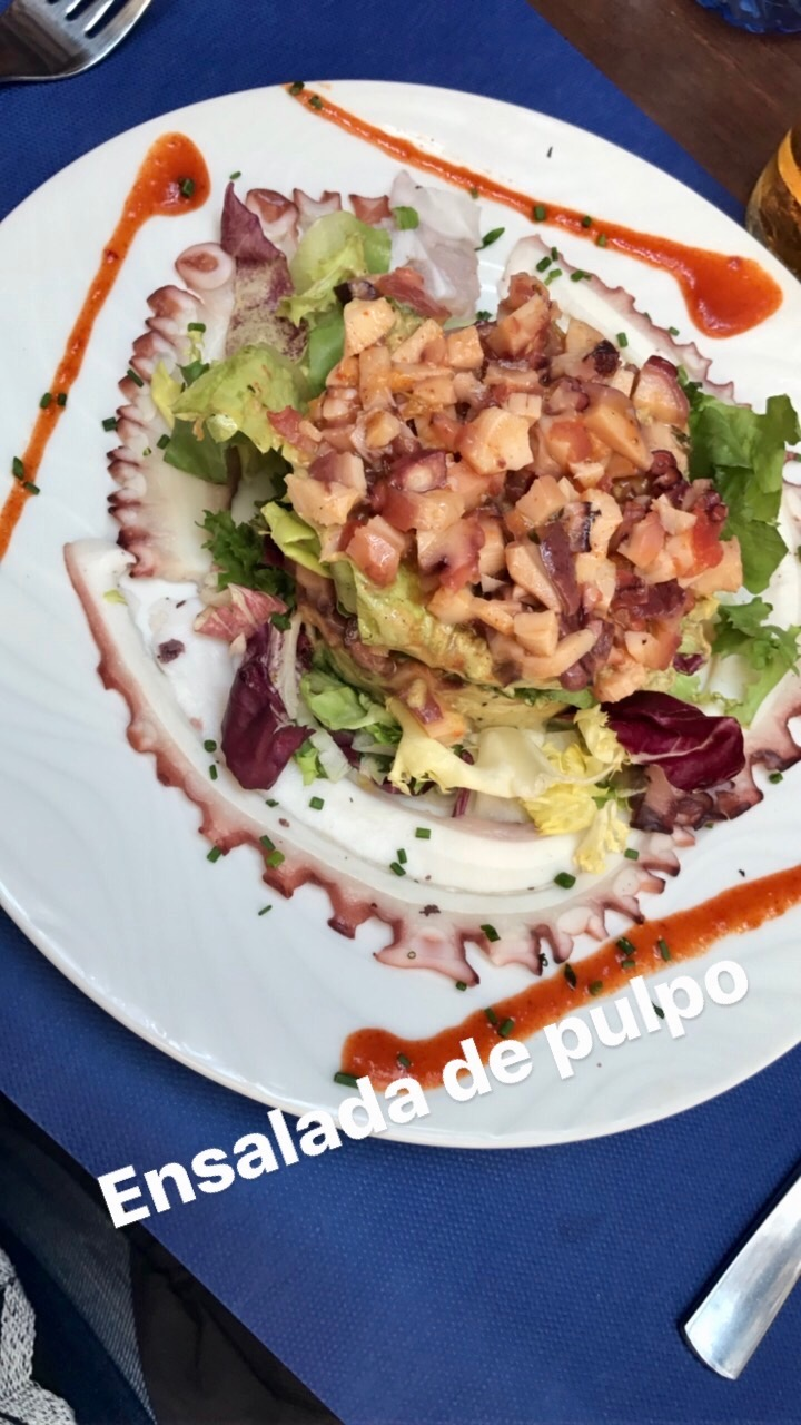 Also, a shout out to the Ensalada de Pulpo, Octopus Salad in Seville!