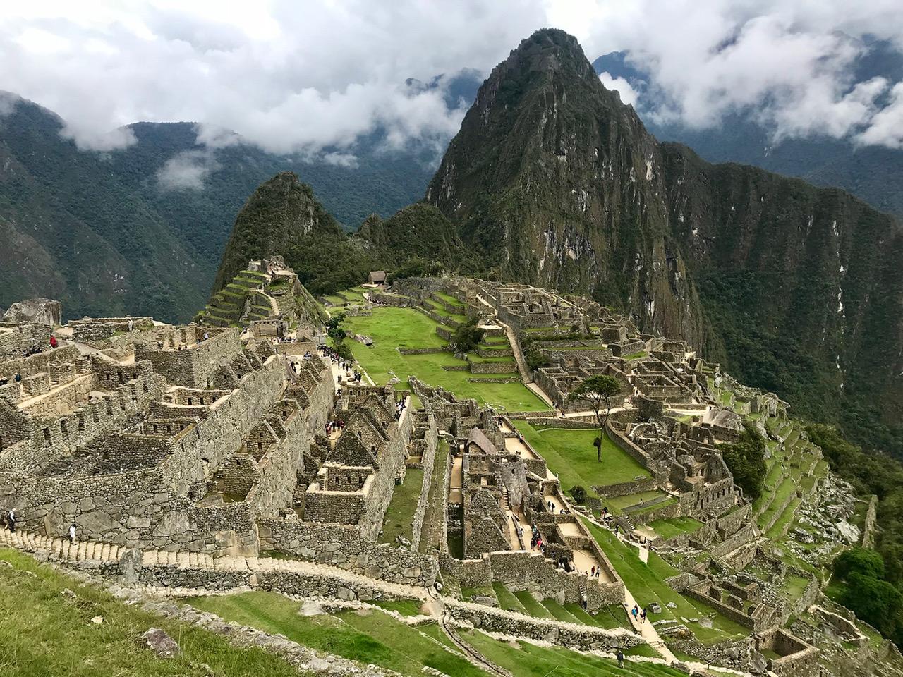 The beauty of Macchu Picchu