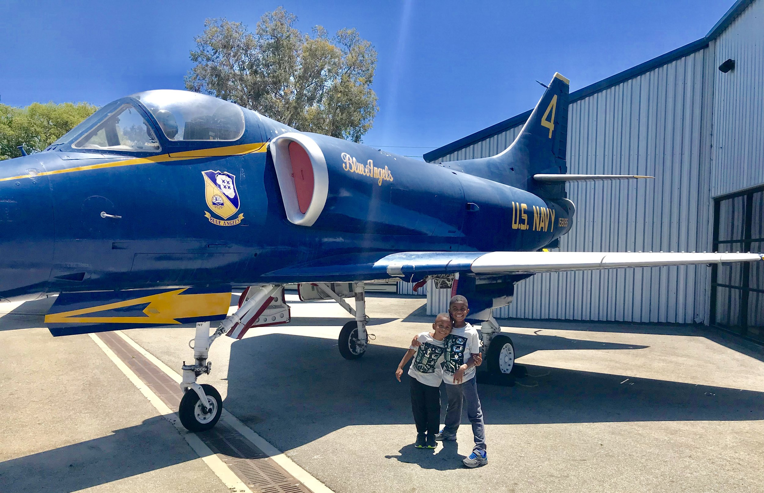 Blue Angles Static Display Museum of Flying