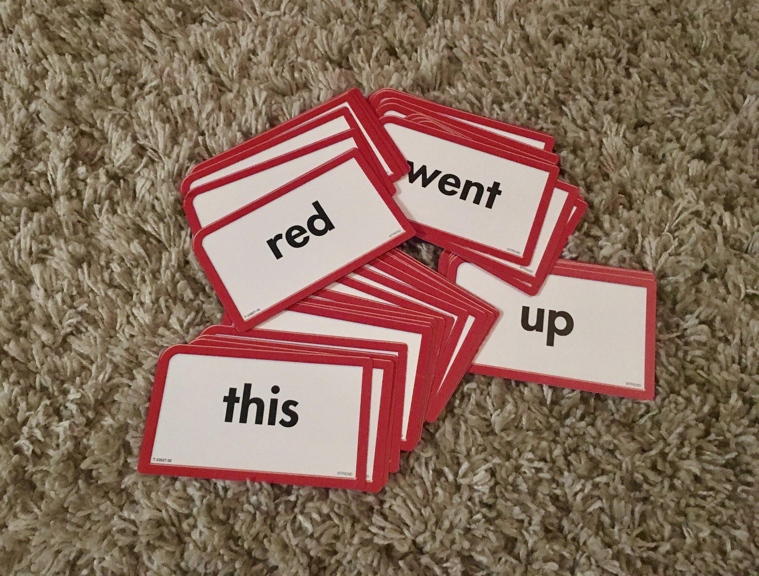Sight-word Flashcards