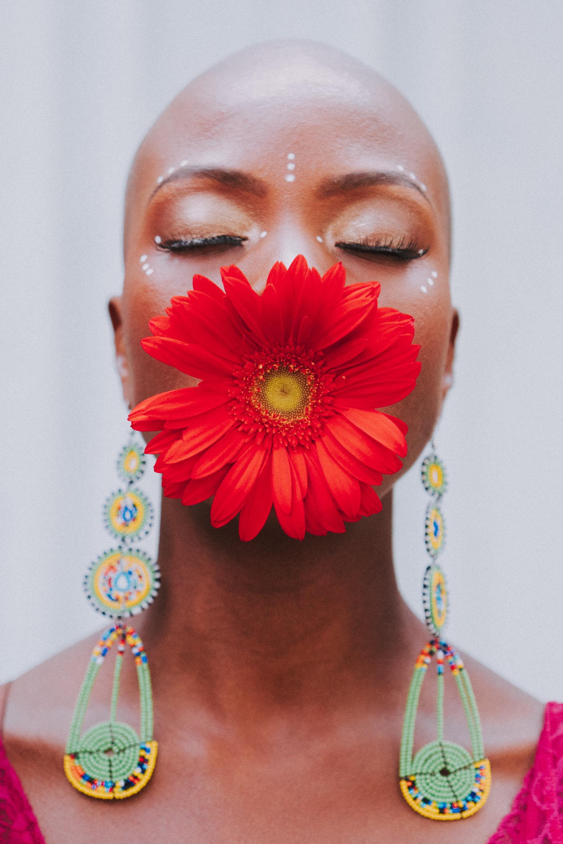 Photographer: Farah Sosa  MUA: Nena Soulfly  Facedot Adornment: Onyi