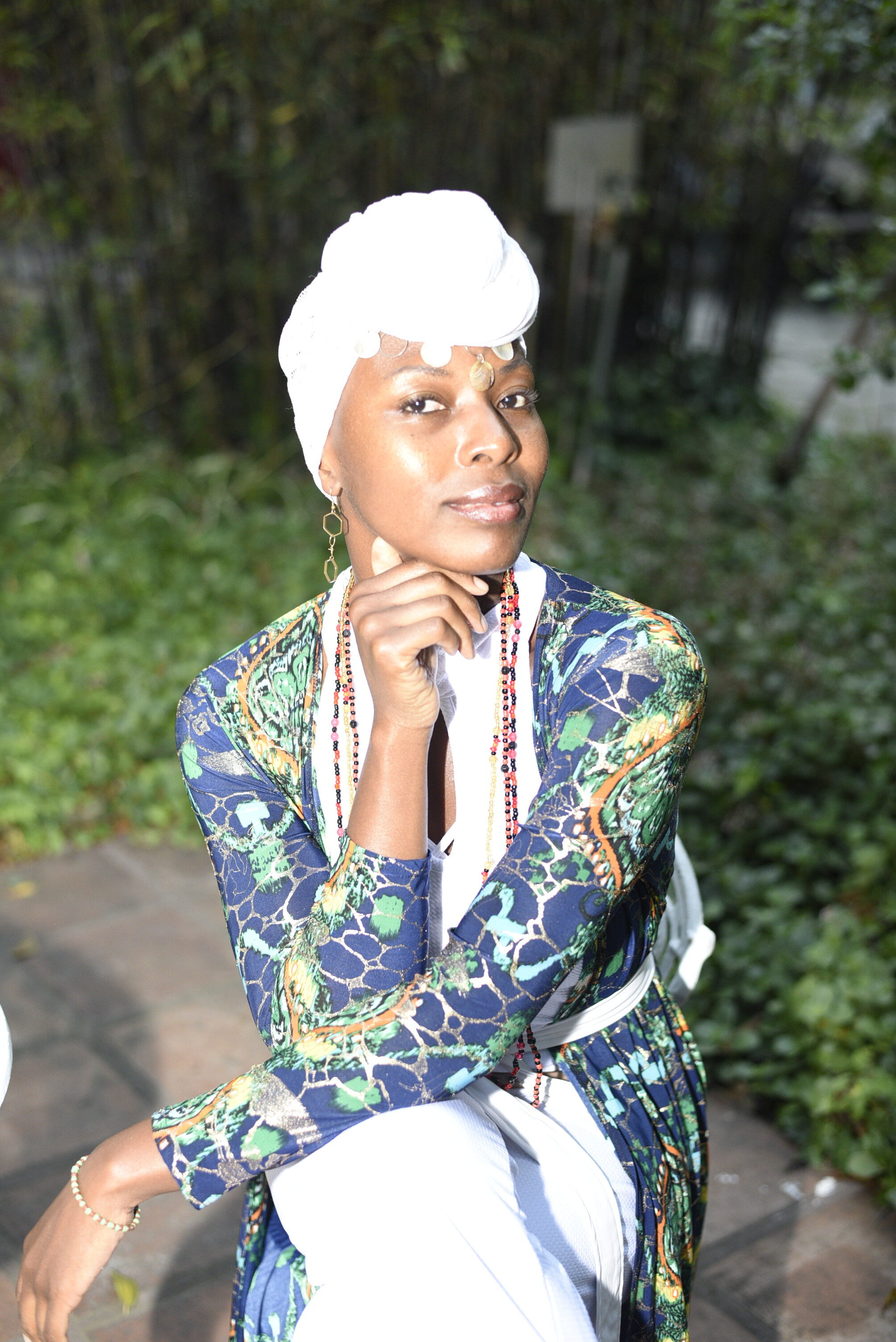 Photo by Letticia Bissondut during Mbombo Restaurant's Alice in Motherland event