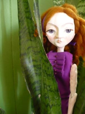One of my mama's beautiful, handmade dolls.