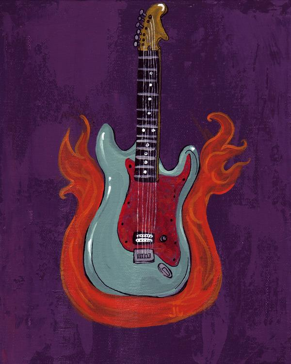 Guitar by June Jewell