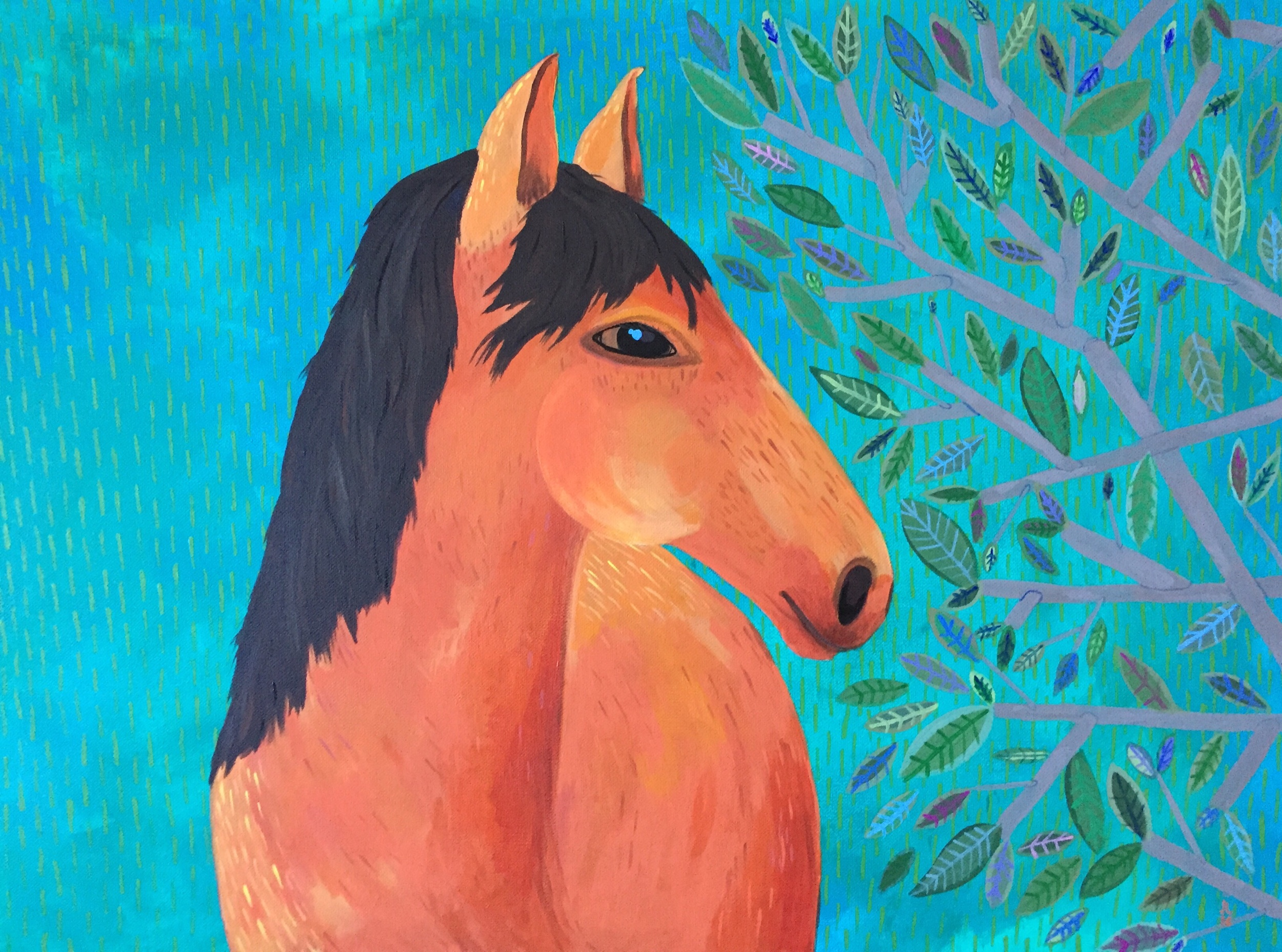 Horse by June Jewell
