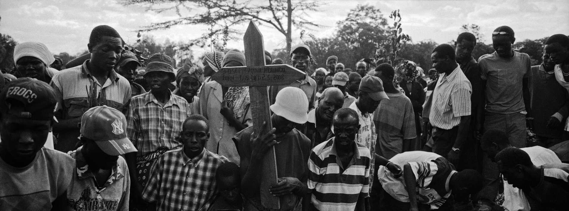 Funeral, Kenya.