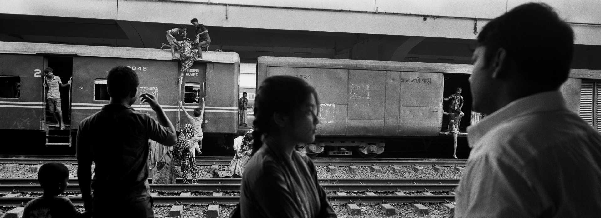 Kamalapur Railway Station. Dhaka, Bangladesh.