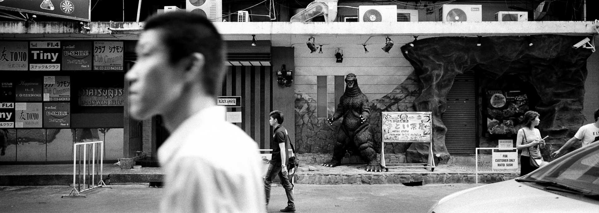 """Godzilla"" Bangkok, Thailand."