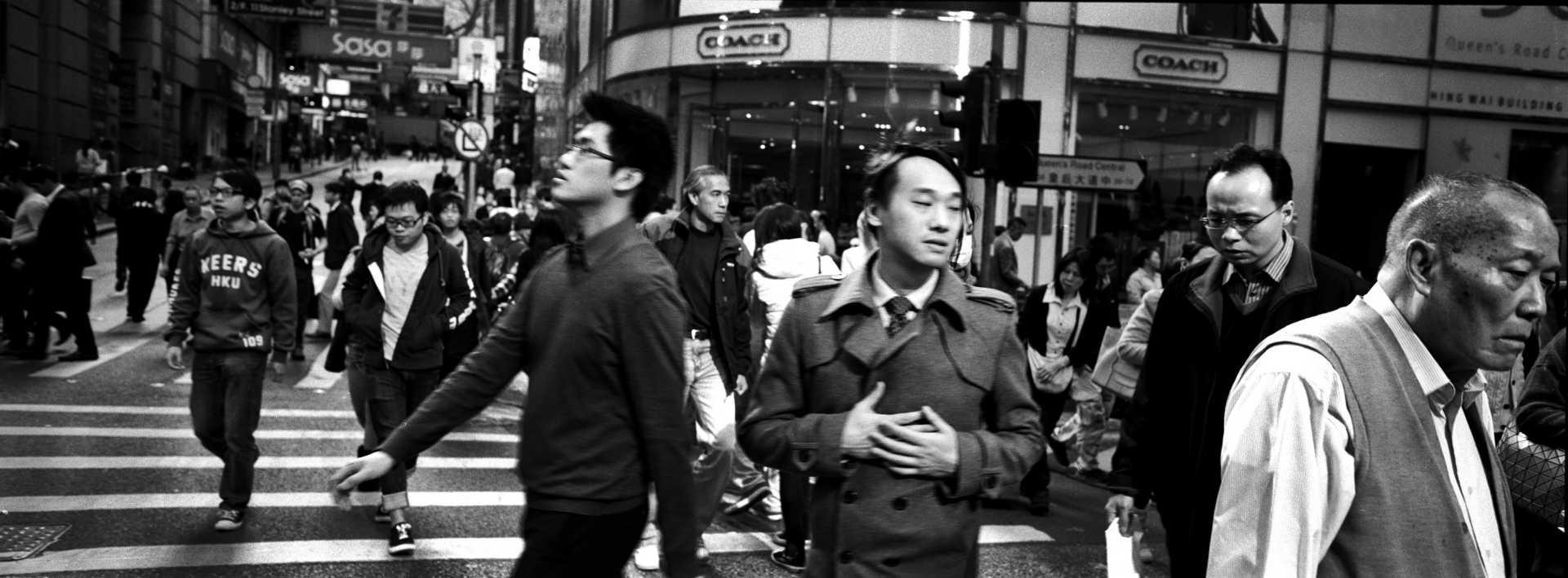 """""""Chaos""""Hong Kong."""