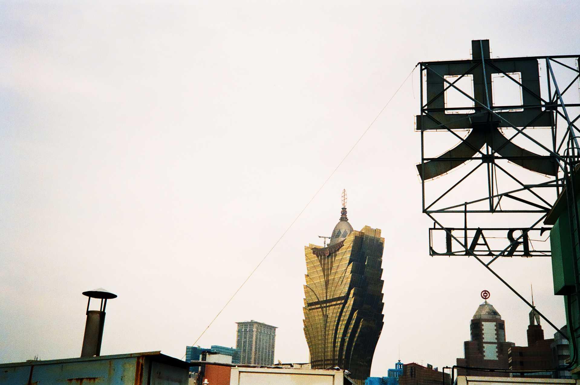 """Rooftop"" Macau, Hong Kong. 2014"