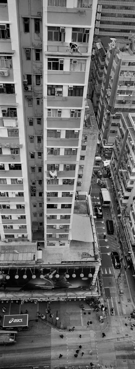 """Window Cleaner""Mong Kok, Hong Kong. 2015"