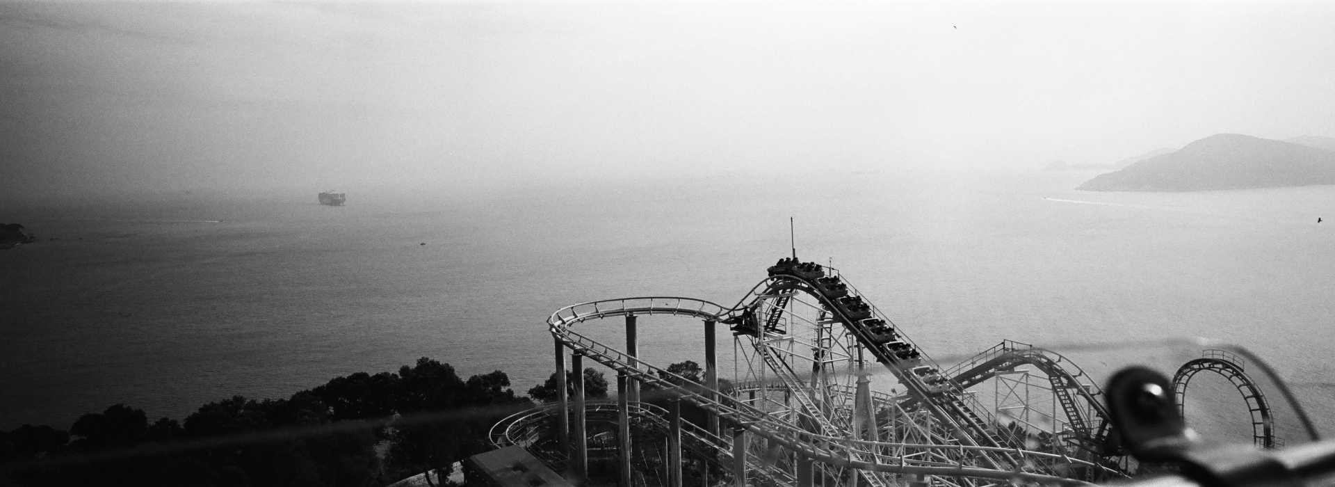 """The Dragon"" Rollercoaster Ocean Park, Hong Kong. 2014"