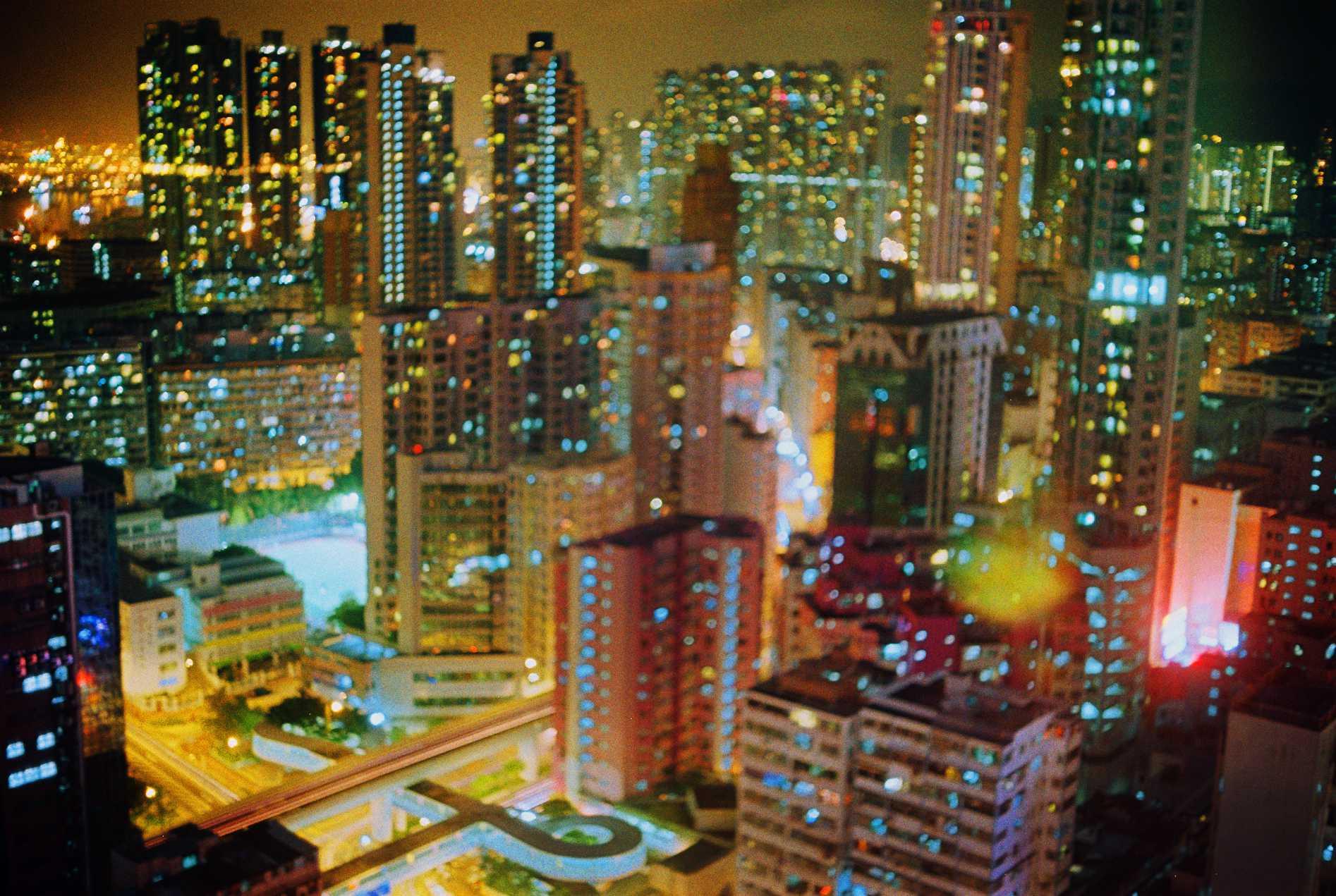 """Mong Kok Nights""Hong Kong. 2015"