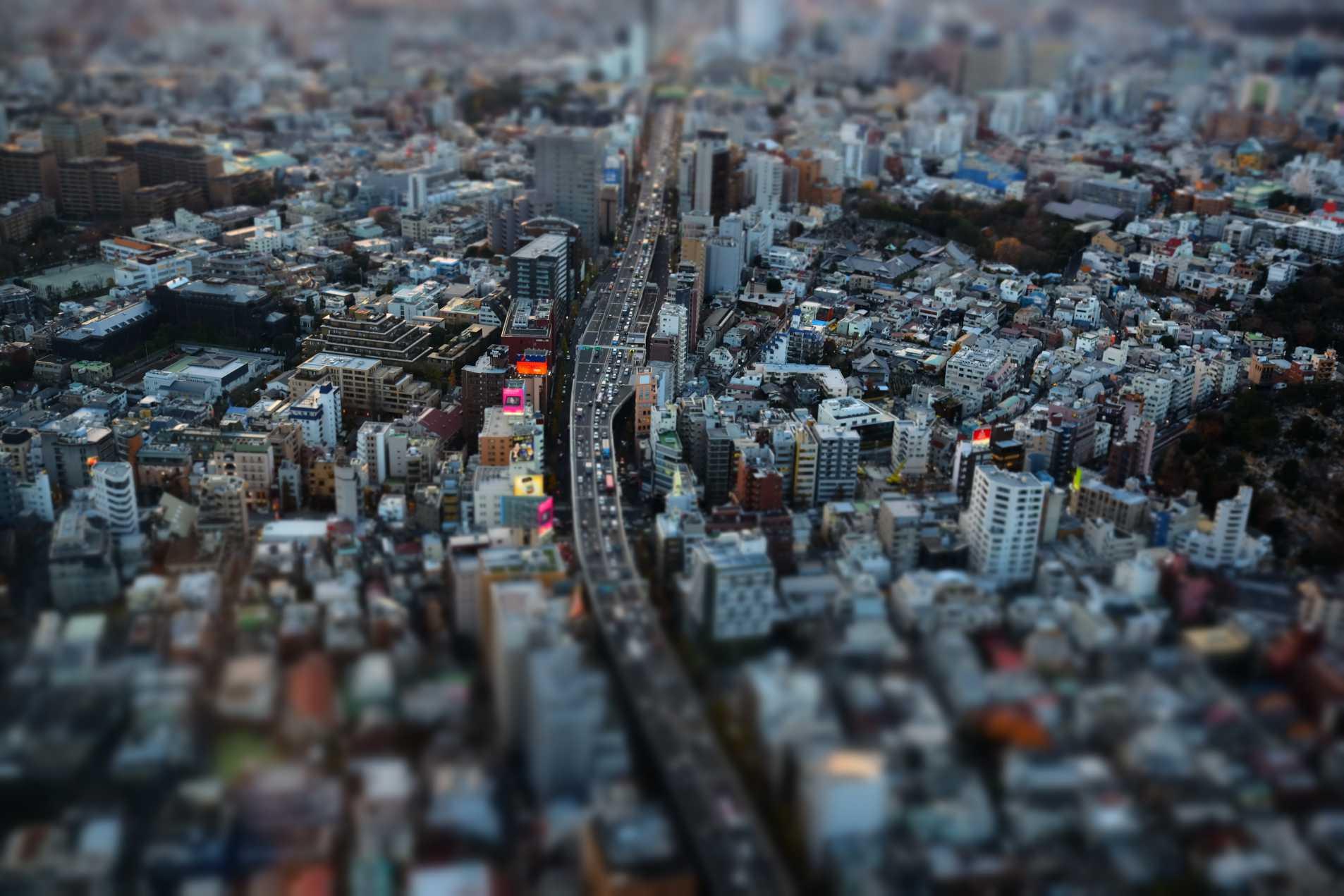 """In Miniature"" Tokyo, Japan. 2013"