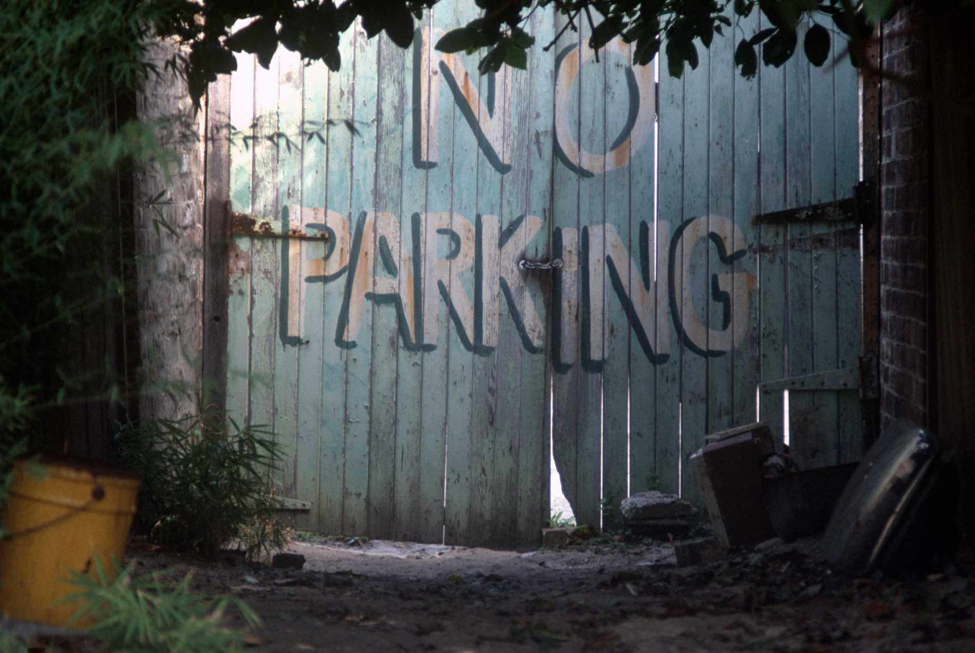 """Parking--NO"" Sydney, Australia. 1985"