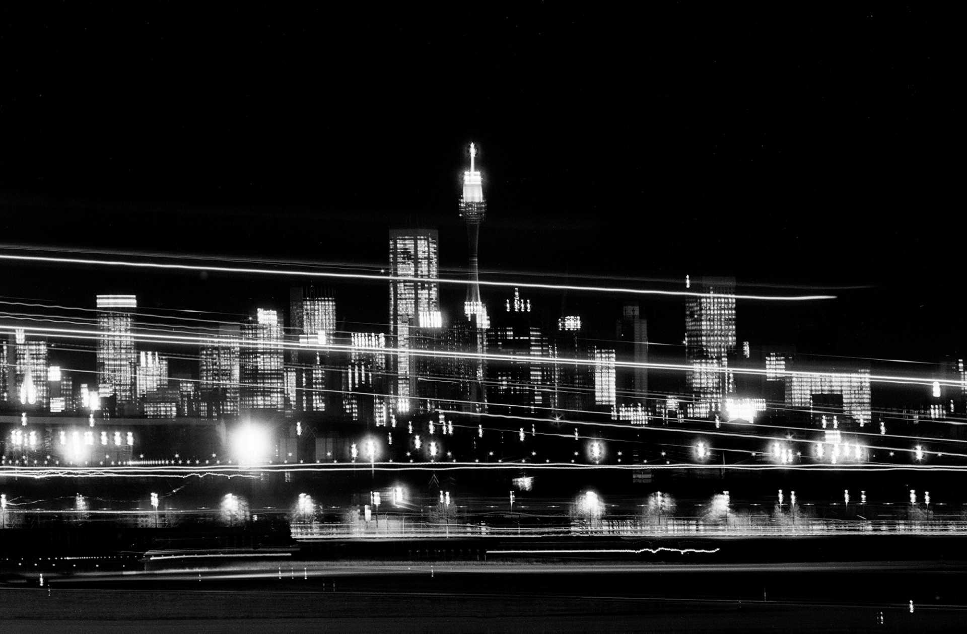 """Jet Trails"" Sydney Airport, Australia. 1985."